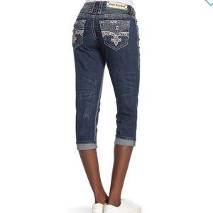 Rock Revival Easy Capri Jeans 29 30 31 32 33 34